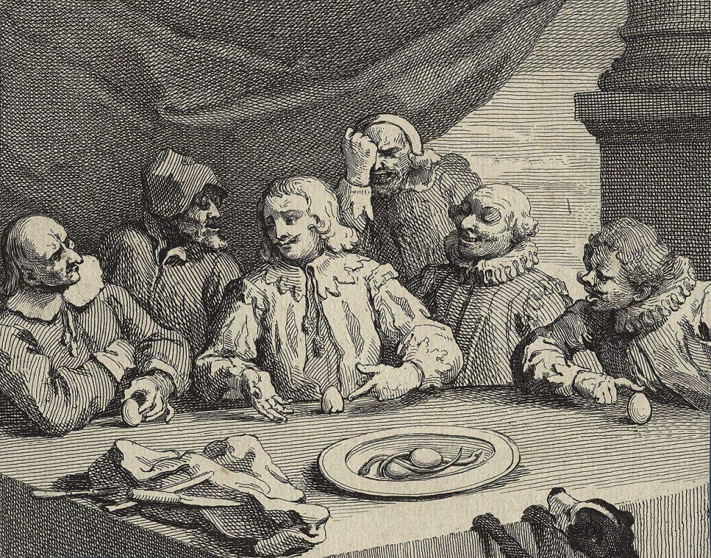 Kolumbusz tojása,  William Hogarth